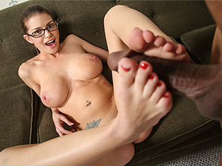 Brooklyn Chase from BlackMeatWhiteFeet.com