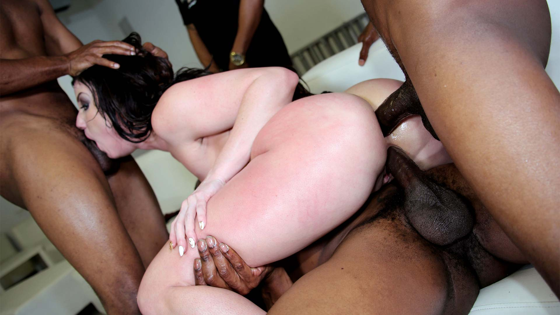 BlacksOnBlondes Jennifer White Interracial Porn