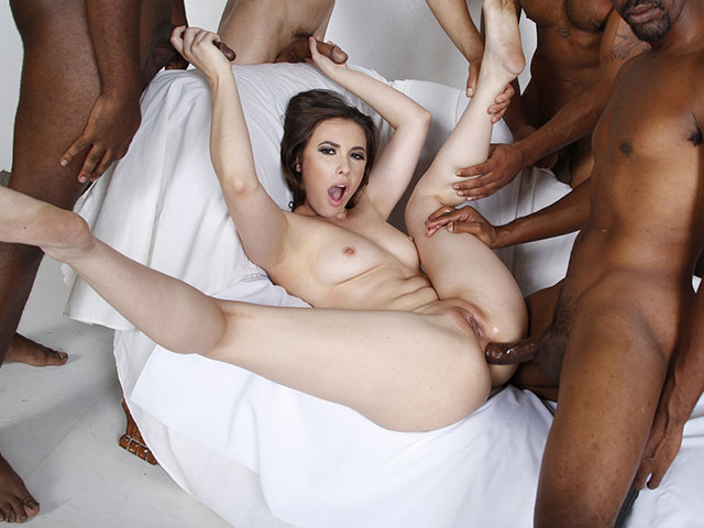 Casey Calvert Interracial