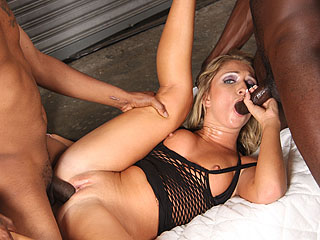 Jaelyn Fox Gangbang from BlacksOnBlondes.com