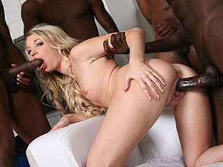 Mina Gangbang from BlacksOnBlondes.com