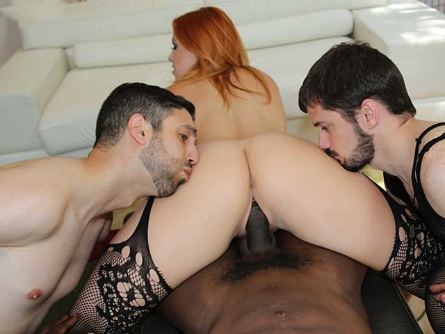 Sara jay lauren phillips jay taylor ram a cock in hot 4 way
