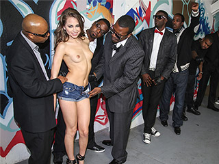 Riley Reid from InterracialBlowbang.com