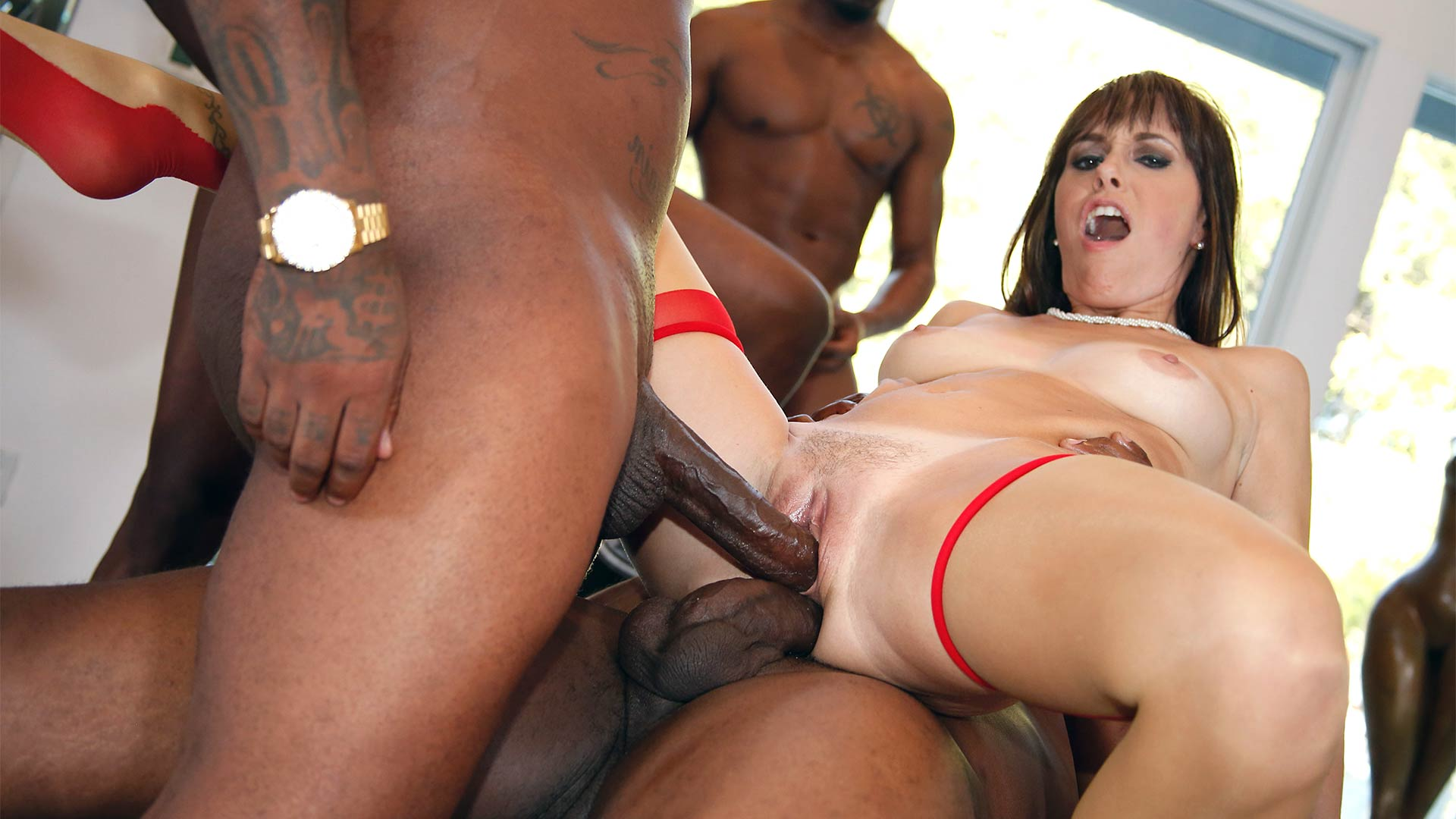 WatchingMyMomGoBlack Alana Cruise Interracial Porn