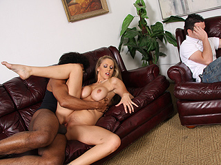Julia Ann from WatchingMyMomGoBlack.com
