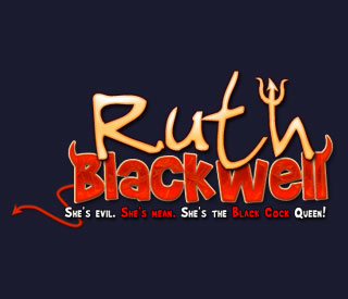 Free RuthBlackwell.com username and password when you join BlackMeatWhiteFeet.com