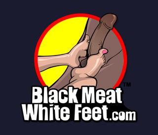 BlackMeatWhiteFeet.com included with your BlacksOnBlondes.com Membership
