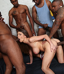Brooklyn Chase Interracial Sex