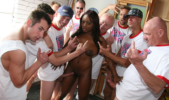 Jada Fire Gang Fucked By Rednecks!