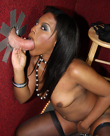 See Ebony Coffee Brown Suck Her First White Cock
