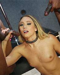 AJ Applegate Interracial BlowBang