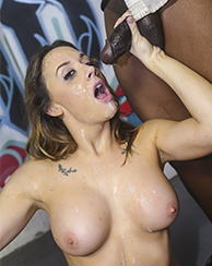 Chanel Preston Interracial Facial
