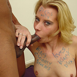 Black Cock Slut Miss Dee