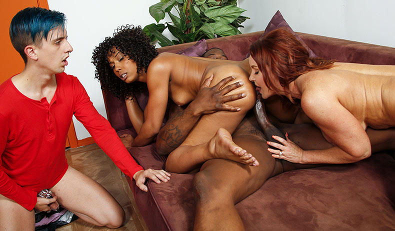 Janet Mason and Misty Stone - Cuckold Sessions Video